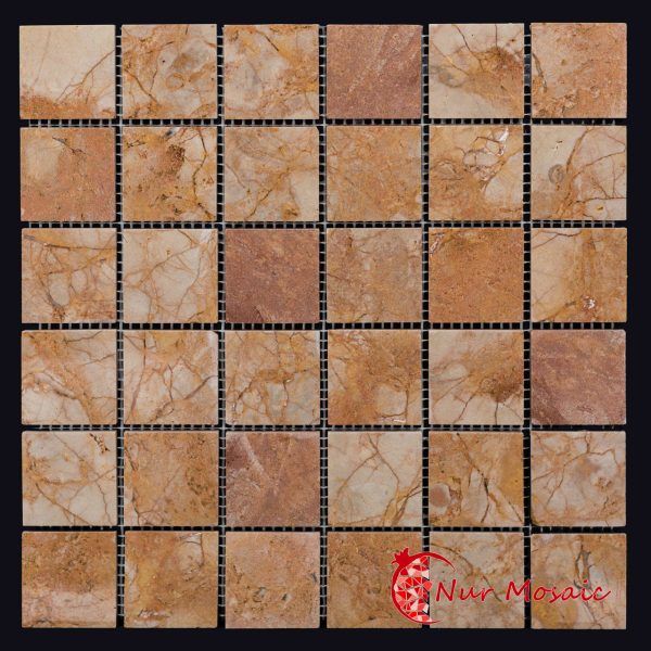 marble cube mosaic