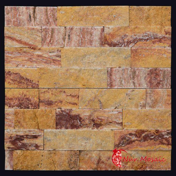 ashlar mosaic tile